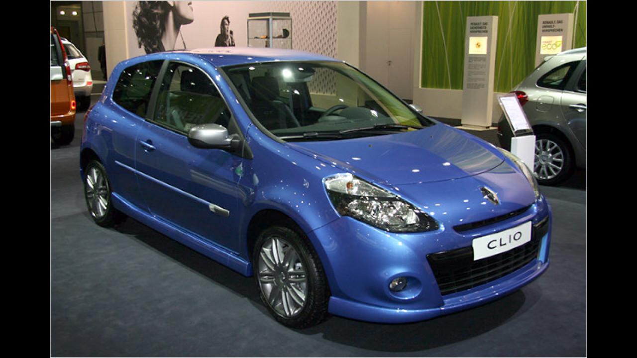 Renault Clio (im Bild das GT-Modell)