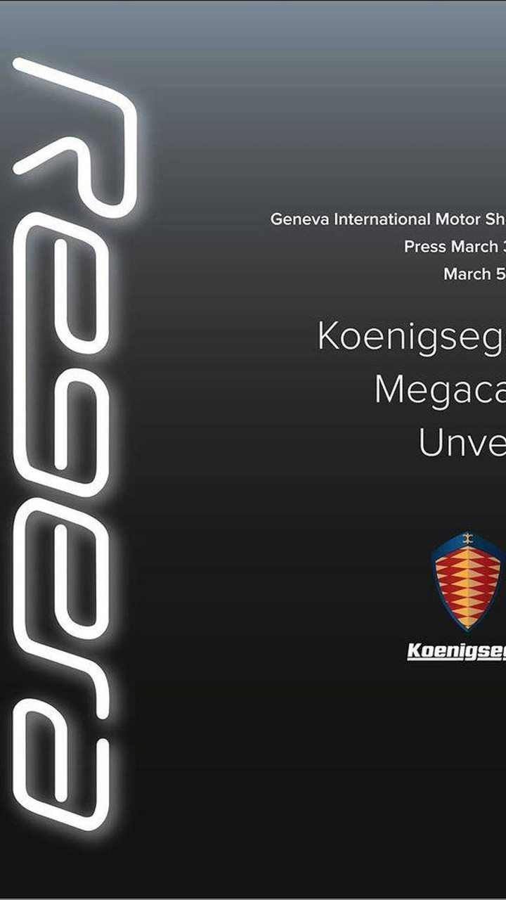 Koenigsegg Regera teaser