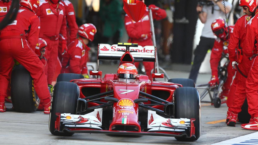 Only 'positive pressure' on Raikkonen - boss