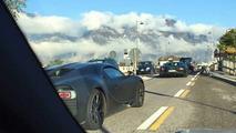Bugatti Chiron spy photo
