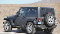 2017 / 2018 Jeep Wrangler spy photo