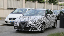 Alfa Romeo Giulietta spy photo