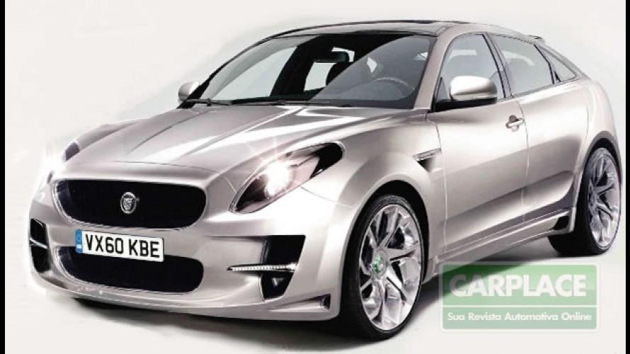 Utilitário esportivo compacto de luxo: Novo Jaguar SUV vem aí