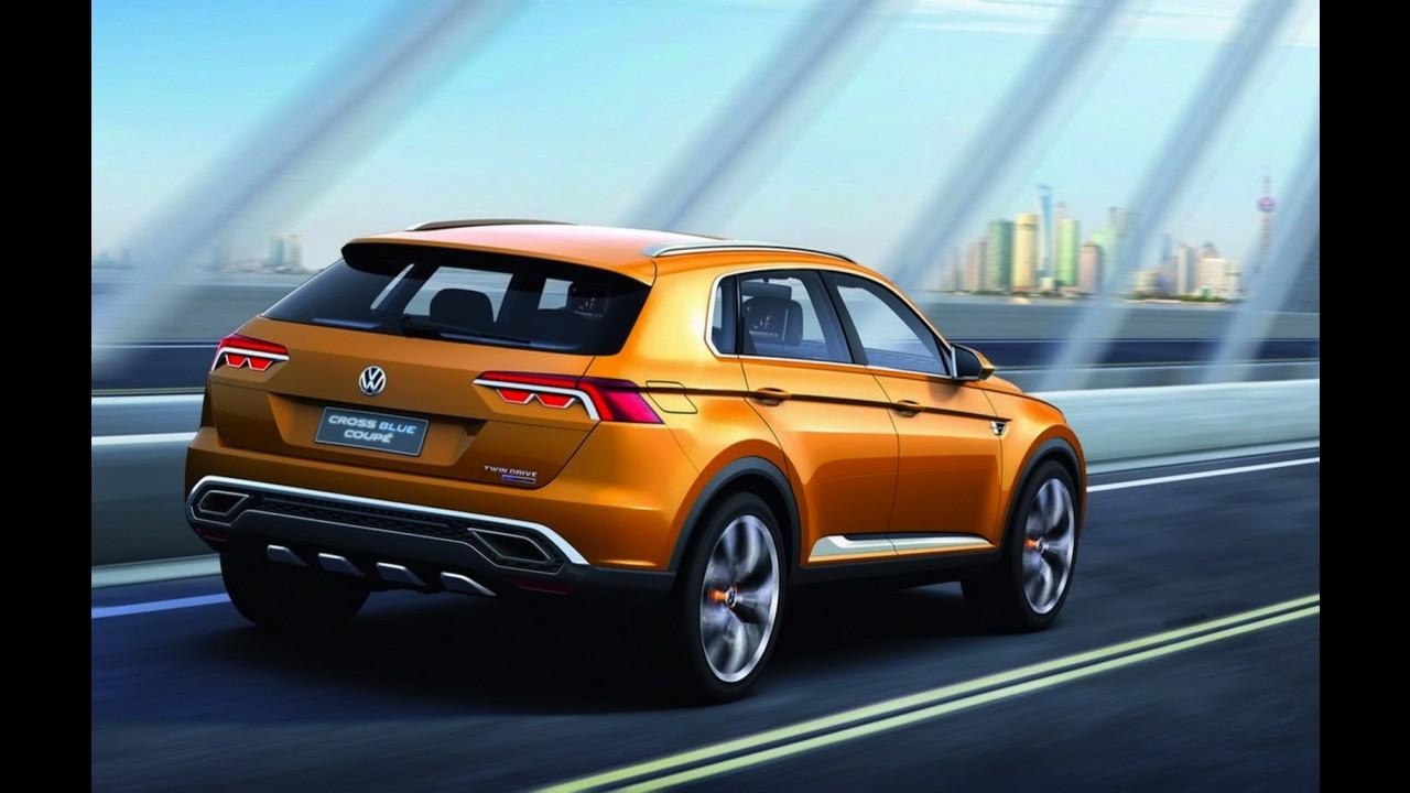 Volkswagen vai mostrar conceito de crossover no Salão de Detroit