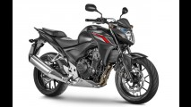 Linha Honda CB500 ganha novas cores e grafismos para 2015