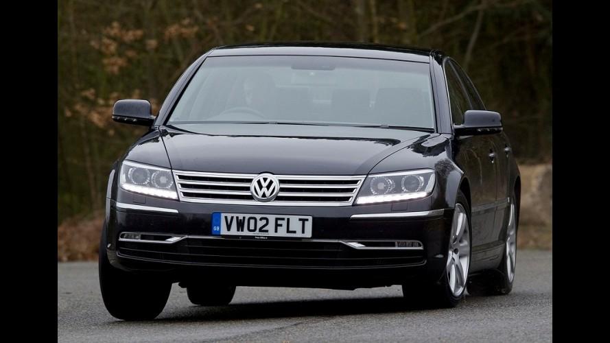 Sedã de luxo da VW, Phaeton sai de cena em 2016; nova geração fica para 2020