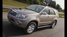 Recall global da Toyota afeta 95 mil unidades de Hilux, SW4 e RAV4 no Brasil