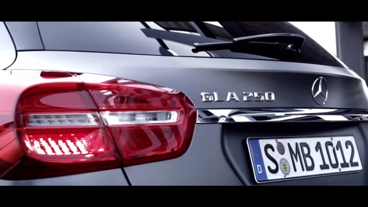 Mercedes-Benz divulga vídeo teaser do novo GLA