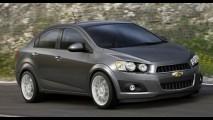 Vaza primeira imagem oficial do Novo Chevrolet Aveo Sedan - Seria o sucessor do Prisma?