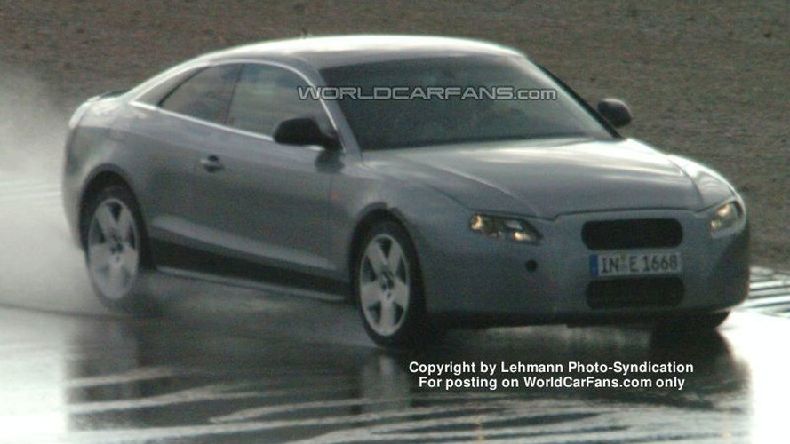 SPY PHOTOS: Audi A5 Coupe Latest Photos