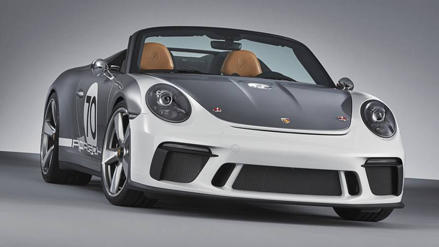 A semmiből bukkant elő a Porsche 911 Speedster tanulmány