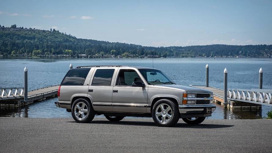 Corvette motorlu bu Chevrolet Tahoe satılamıyor
