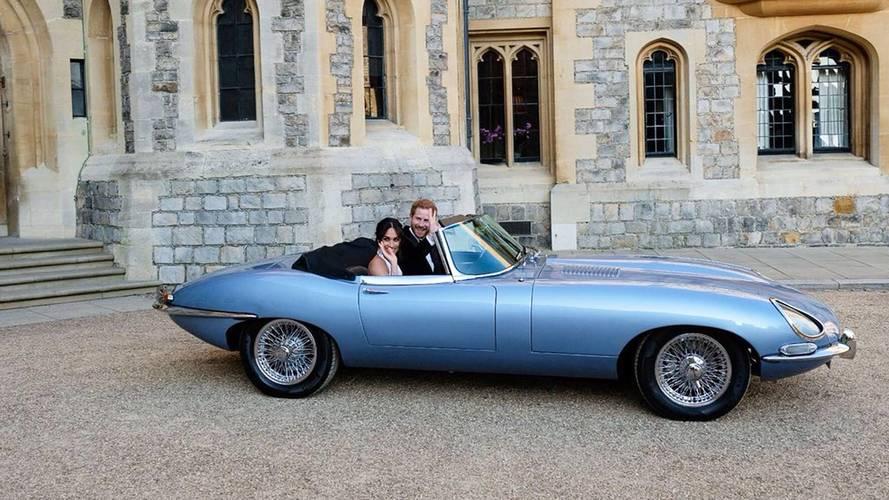 Harry e Meghan, una Jaguar elettrica a sorpresa per il matrimonio
