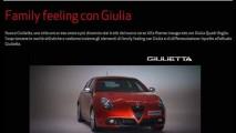 Vazou: Alfa Romeo Giulietta reestilizado é revelado antes da estreia