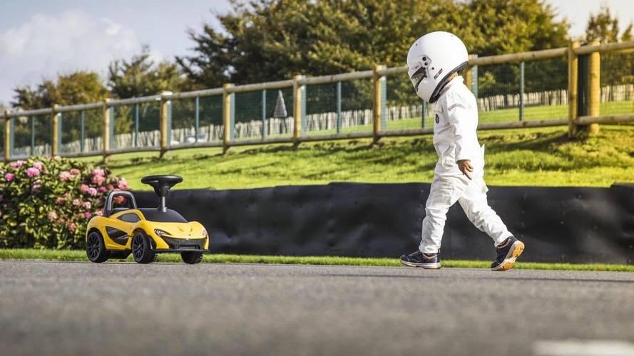 Mini McLaren P1 is a good reason to stay off Santa's naughty list