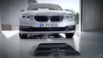 2018 BMW 530e kablosuz şarj