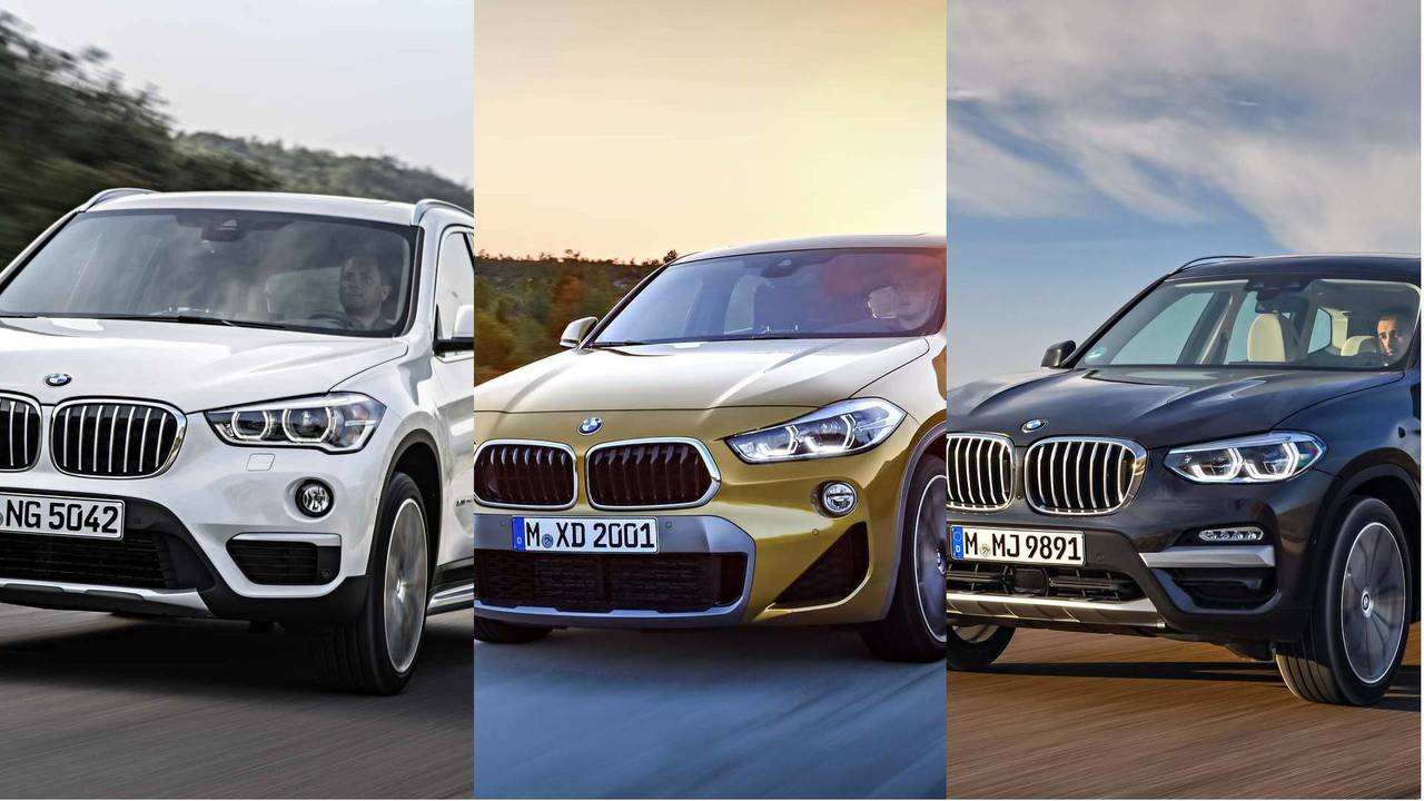 BMW's SUV battle – X1, X2, X3