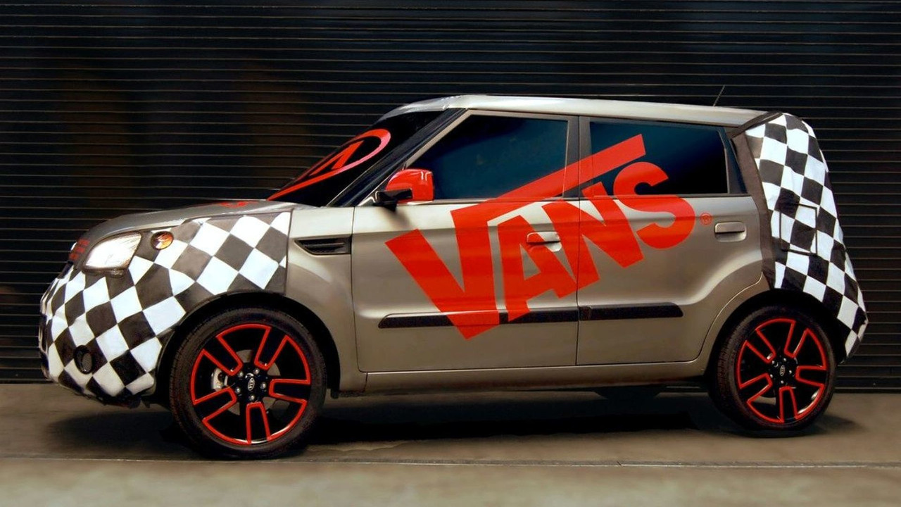 Kia Soul at Vans Warped Tour