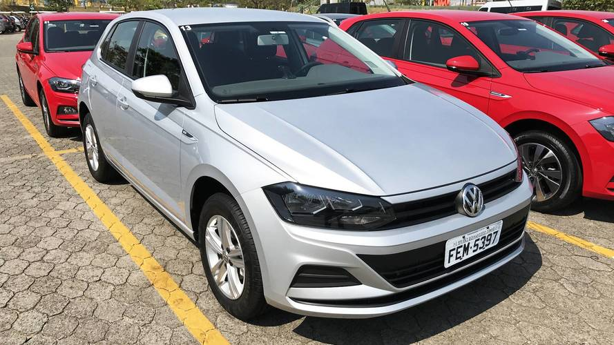 Mais vendidos - VW Polo larga em terceiro neste começo de 2018