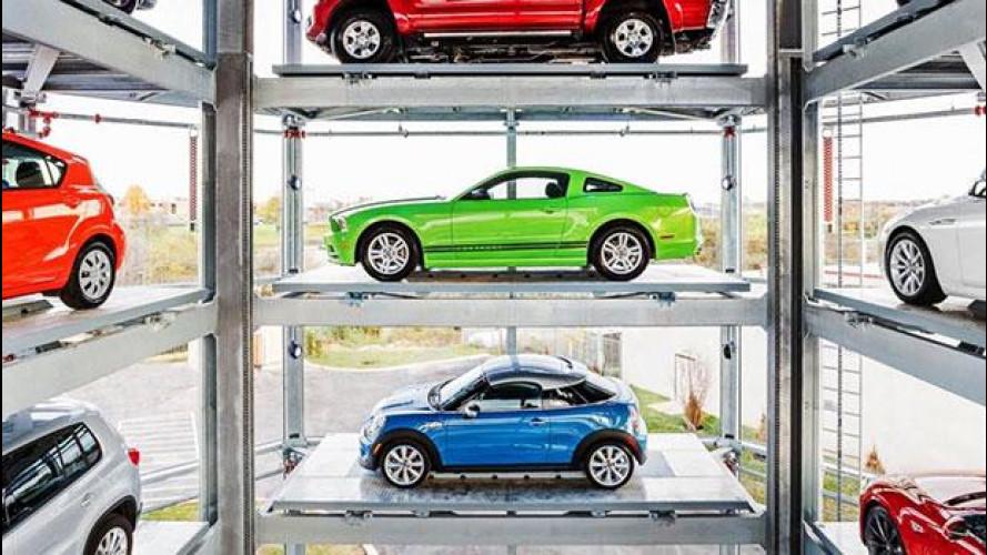 Negli USA le auto si comprano dal distributore automatico