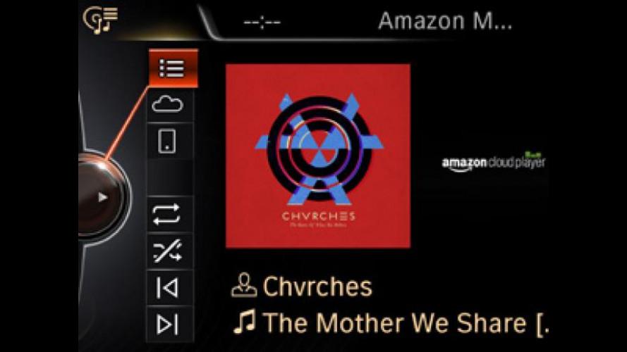 Su MINI Connected arriva Amazon Cloud Music Player