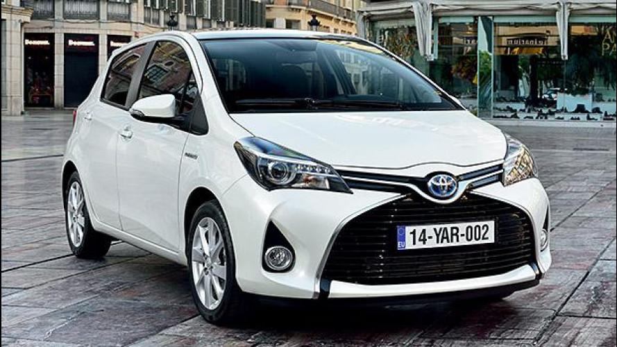 Toyota, fino a 4.500 euro di ecoincentivi per l'ibrido