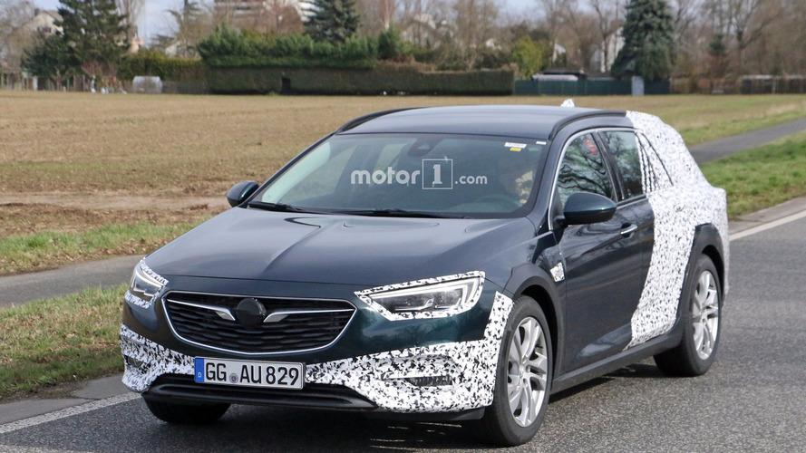 2018 Opel Insignia Country Tourer photos espion