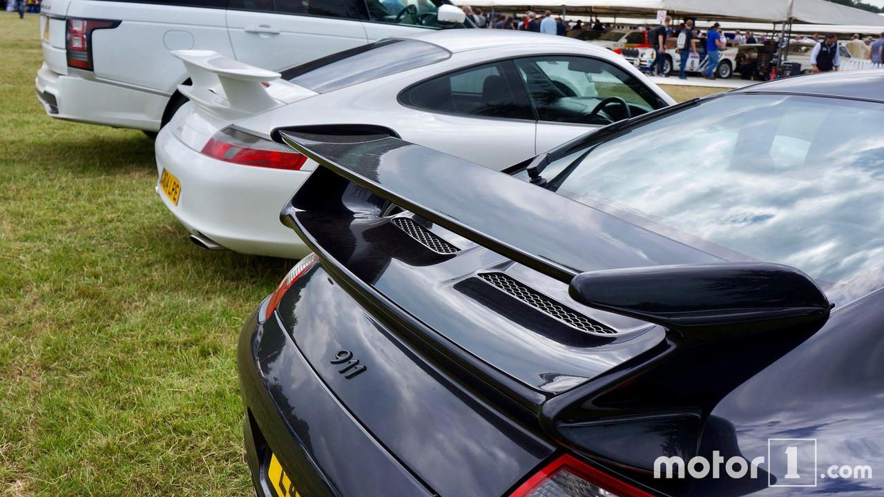 Goodwood Festival of Speed 2017 parking superdeportivos