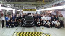 Chevrolet Cruze - 40 mil unidades
