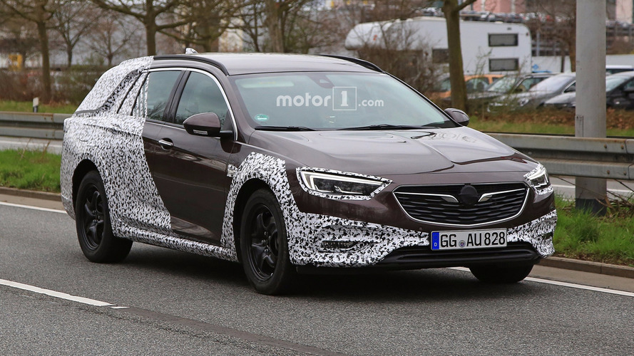 2018 Opel Insignia Country Tourer new spy images