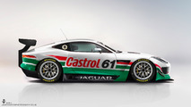 Jaguar F-Type GT3 Rendering