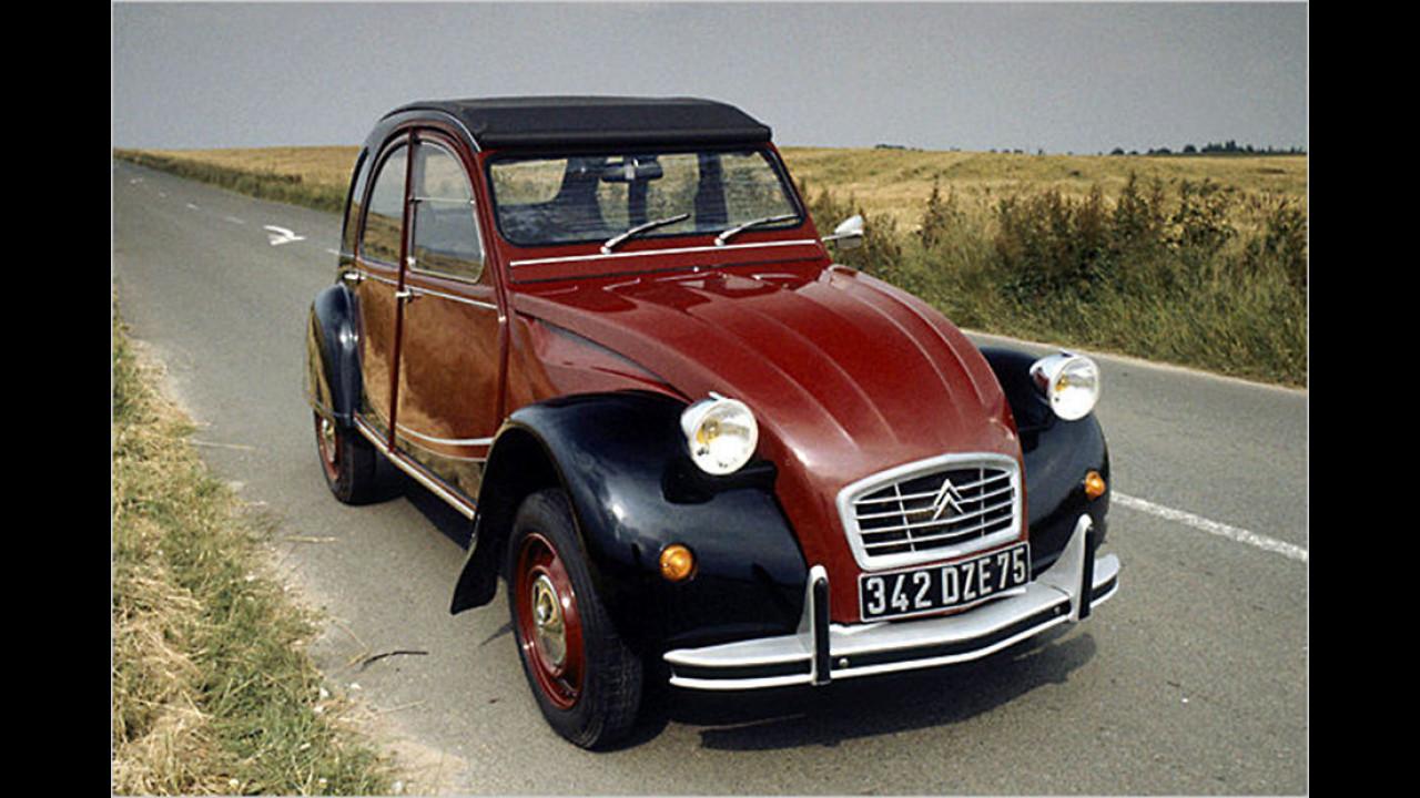 Platz zwei seit 1999: Citroën 2CV 6