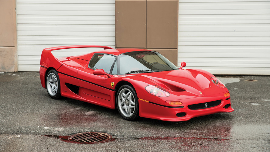 Mike Tyson'ın Ferrari F50'si satılıyor
