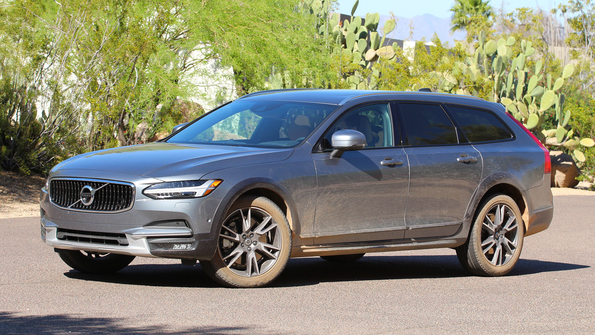 2017 volvo v90 cross country first drive like an suv but better. Black Bedroom Furniture Sets. Home Design Ideas