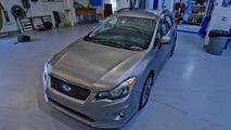 2012 Subaru Impreza Sport 5-door SPT accessory vehicle - 1.11.2011