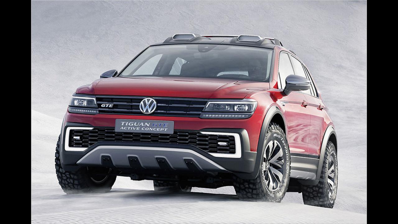 VW Tiguan GTE Active Concept (2016)