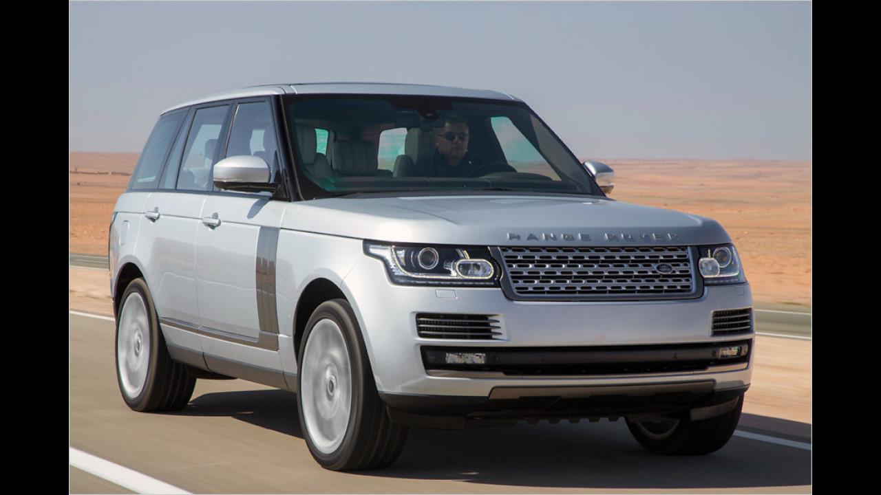 Kategorie Luxus-SUV (Importwertung)