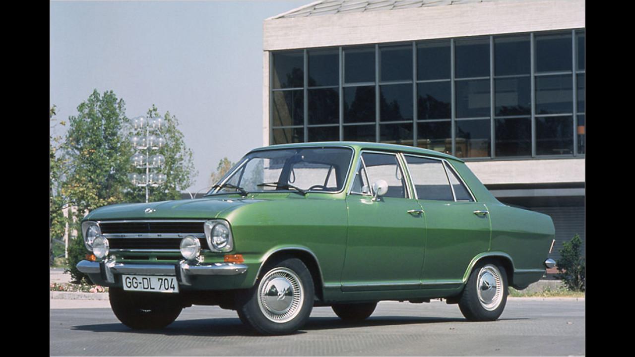 Platz 10: Opel Kadett, 4.280 Fahrzeuge mit H-Kennzeichen