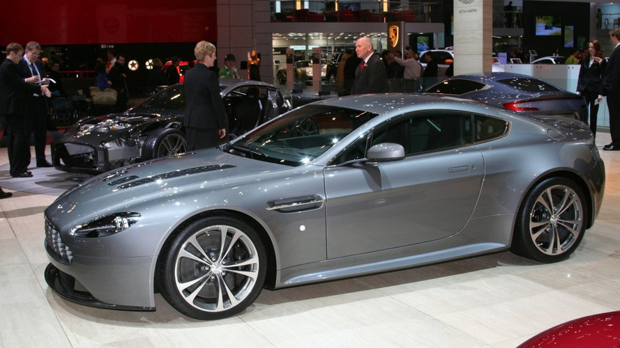 aston martin v8 vantage facelift promo  video