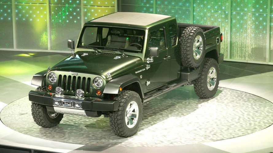 Jeep Pickup Truck slated for 2011 - report