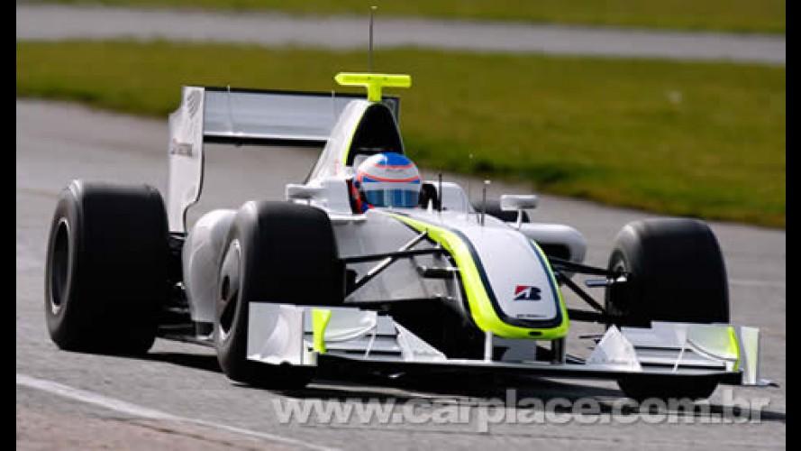 Será que vai? Brawn GP faz o melhor tempo e fica à frente de Ferrari e Cia