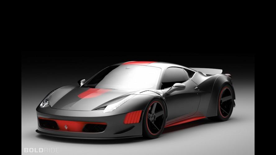 Gray Design Ferrari 458 Curseive Concept