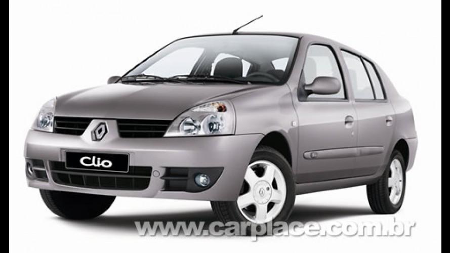 Renault passa a oferecer três anos de garantia total para o Clio Sedan