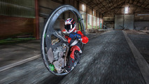 Englishman sets monowheel world speed record