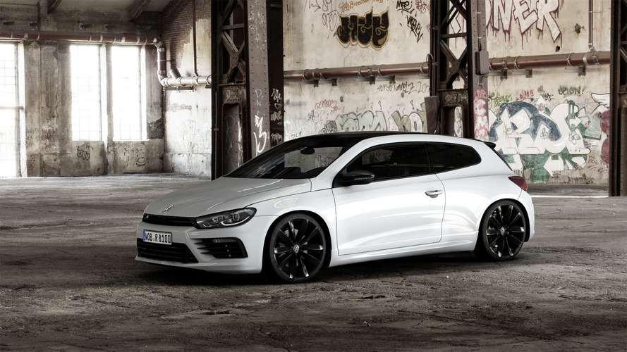 VW Scirocco R Black Style announced in various colors except black