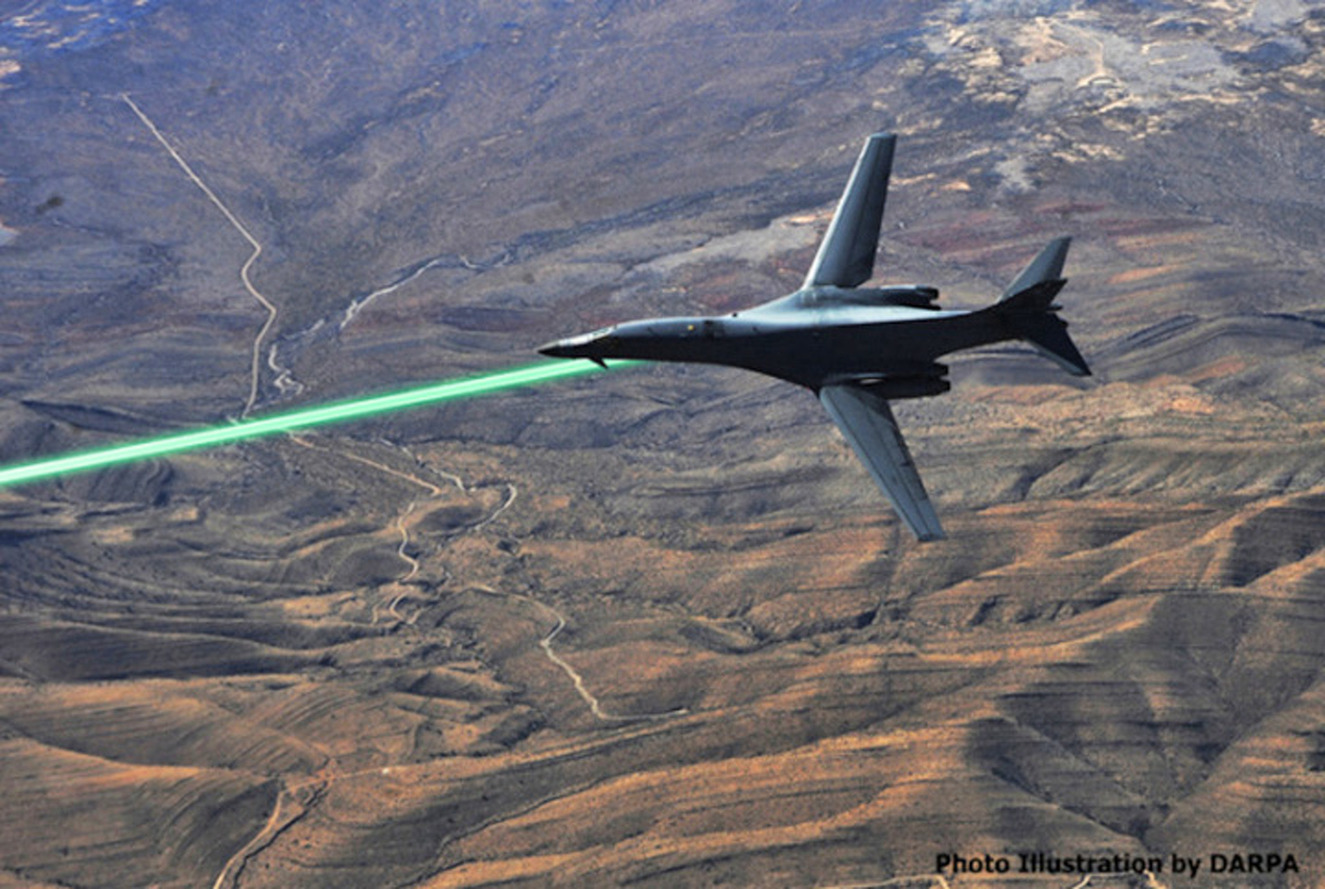 Air Force Says Lasers Will be on Jets by 2020