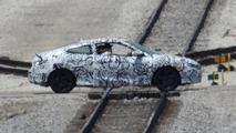 Next generation Honda Civic Coupe spied from far away