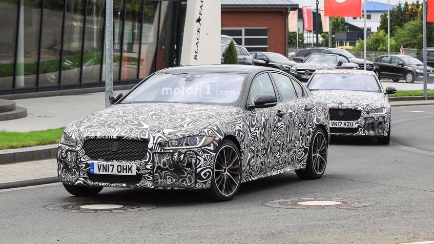 2019 Jaguar XE SVR casus fotoğrafları