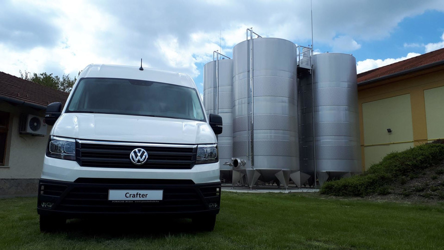 Volkswagen Crafter: okos, de azért nem dolgozik helyettünk