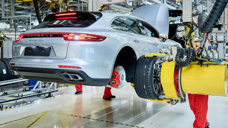 2018 Porsche Panamera Sport Turismo üretim başlangıcı